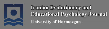Iranian Evolutionary and Educational Psychology Journal